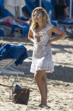 TALLIA STORM on the Beach in Barbados 12/29/2016
