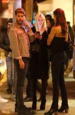 TARA REID Leaves Villa Lounge in West Hollywood 12/20/2016