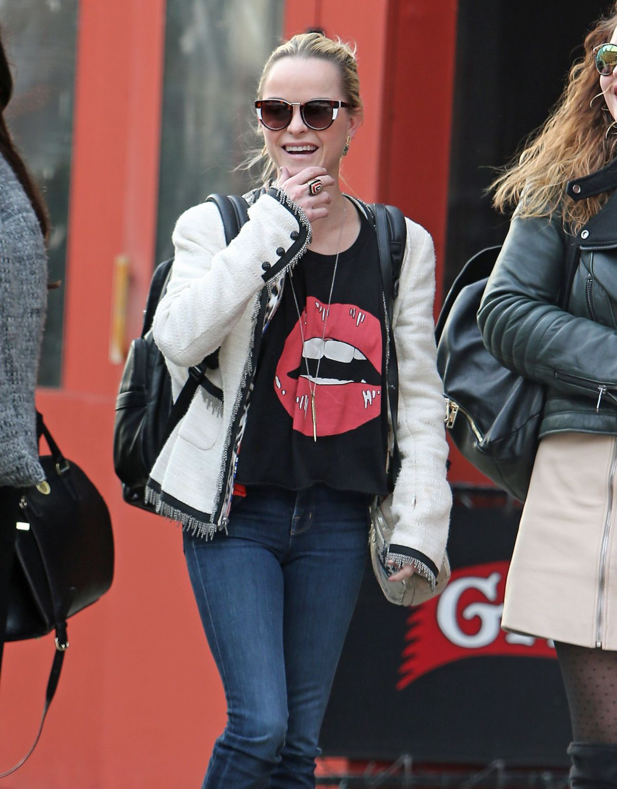 TARYN MANNING Out in New York 12/13/2016