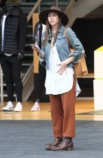 TROIAN BELLISARIO Out Shopping at The Grove in Los Angeles 12/12/2016