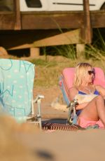 VALERIA MAZZA in Bikini on the Beach in Punta Del Este 12/23/2016