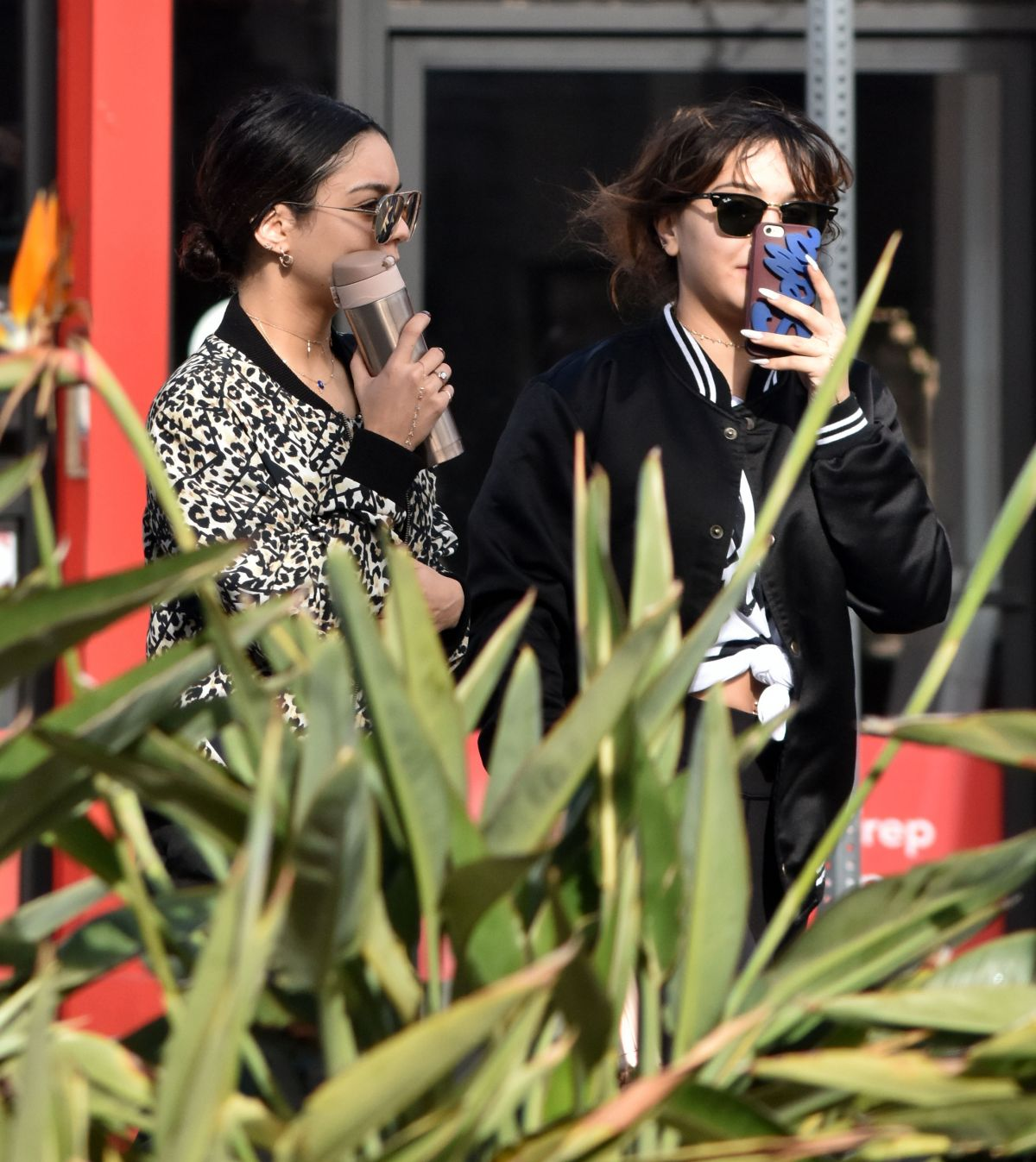 VANESSA and STELLA HUDGENS After a Workout in Los Angeles 12/30/2016