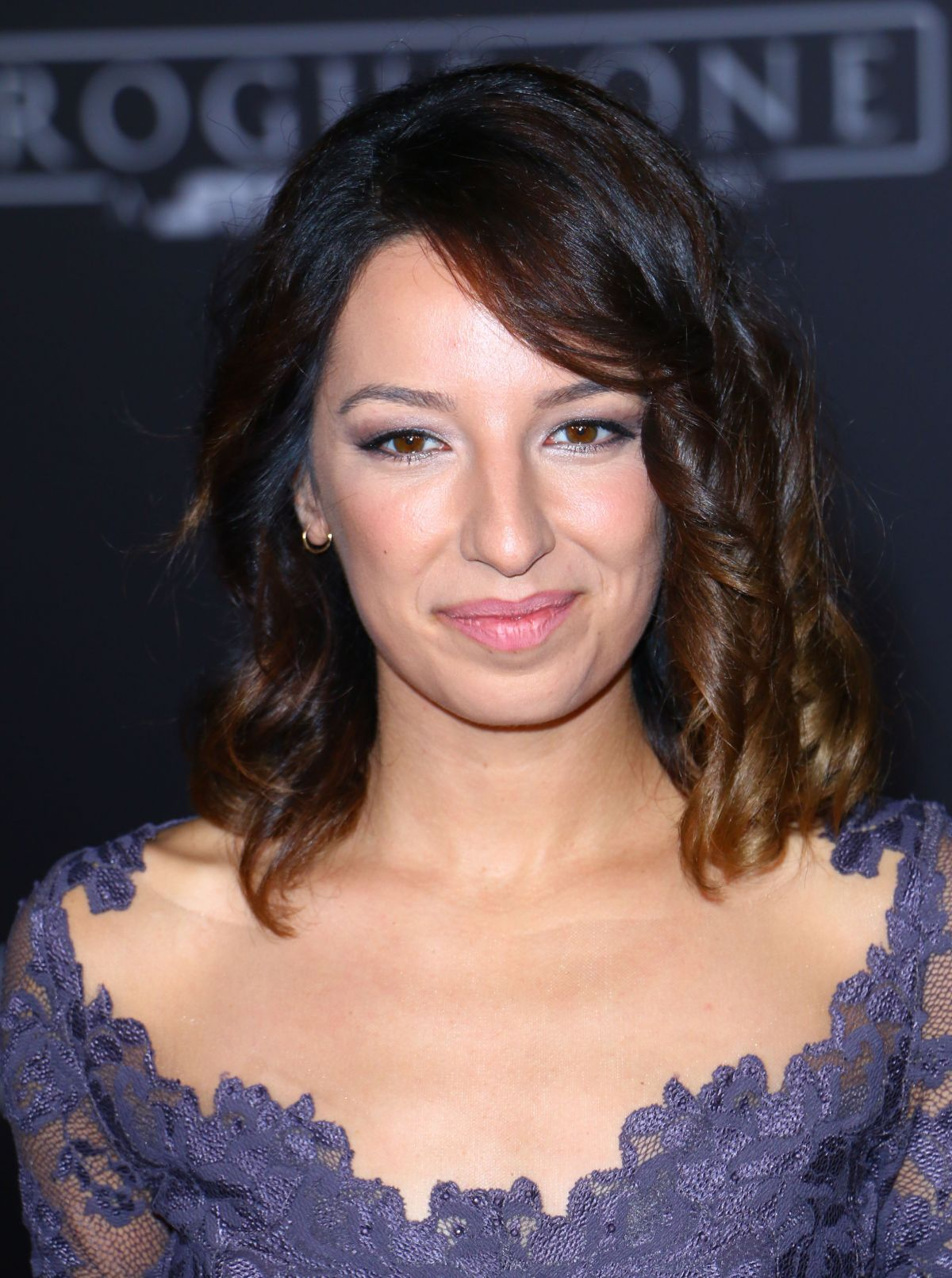 VANESSA LENGIES at Rogue One: A Star Wars Story Premiere in Hollywood 12/10/2016