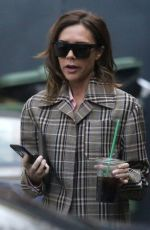 VICTORIA BECKHAM Shopping in London 12/16/2016
