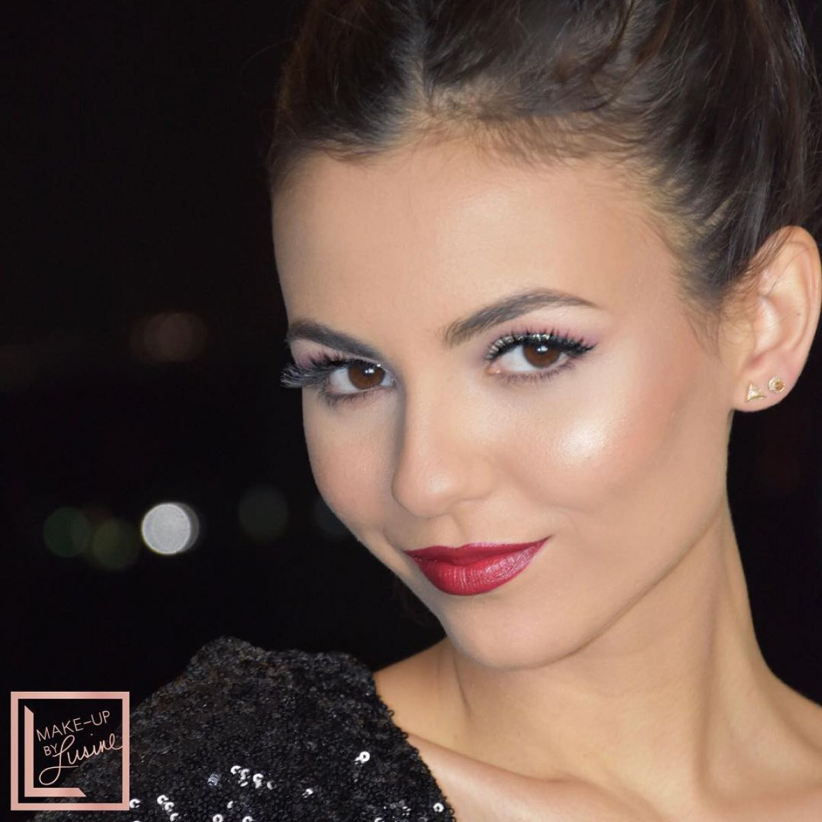 VICTORIA JUSTICE for Lusine Makeup