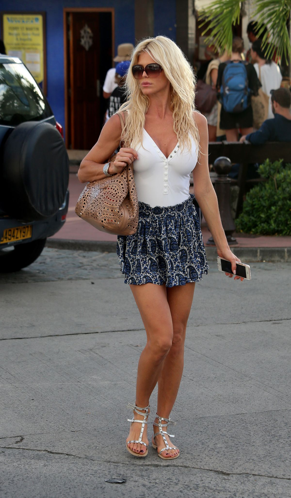 VICTORIA SILVSTEDT Out and About in St. Barts 12/23/2016