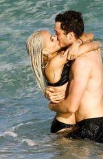 ZOE KRAVITZ in Bikini at a Beach in Miami 12/23/2016
