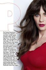 ZOOEY DESCHANEL in Cosmopolitan Magazine, November 2016
