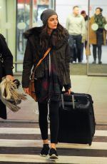 ZUZANNA BIJOCH at Airport in Warsaw 12/22/2016