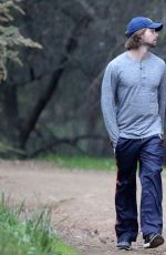 ABBY CHAMPION Out for a Hike with Her Boyfriend in Los Angeles 01/04/2017