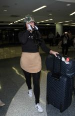 ABIGAIL RATCHFORD at LAX Airport in Los Angeles 01/30/2017