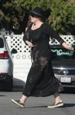 ADELE Out and About in Beverly Hills 12/27/2016