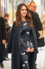 ADRIA ARJONA Leaves NBC Studios in New York 01/04/2017