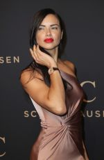 ADRIANA LIMA at IWC Schaffhausen Decoding the Beauty of Time Gala Dinner in Geneva 01/17/2017