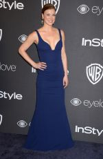 ADRIANNE PALICKI at Warner Bros. Pictures & Instyle's 18th Annual Golden Globes Party in Beverly Hills 01/08/2017