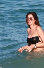 AIDA YESPICA in Bikini at a Beach in Miami 01/24/2017