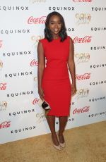 AJA NAOMI KING at Life is Good at Gold Meets Golden Event in Los Angeles 01/07/2017