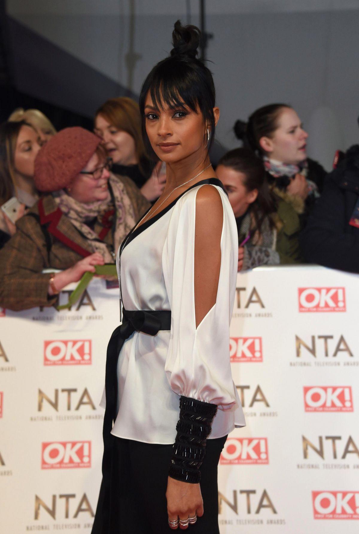 ALESHA DIXON at National Television Awards in London 01/25/2017