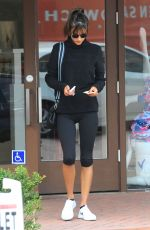 ALESSANDRA AMBROSIO Arrives at a Gym in Brentwood 01/18/2017