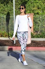 ALESSANDRA AMBROSIO Heading to Yoga Class in Los Angeles 01/19/2017