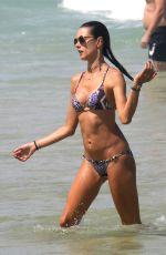 ALESSANDRA AMBROSIO in Bikini at a Beach in Florianopolis 01/02/2017