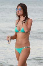 ALESSANDRA AMBROSIO in Bikini on the Beach in Canasvieiras 01/11/2017
