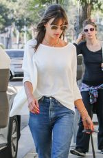 ALESSANDRA AMBROSIO Out in Los Angeles 01/17/2017