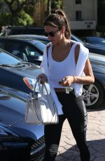 ALESSANDRA AMBROSIO Out in Los Angeles 01/27/2017