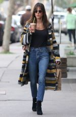 ALESSANDRA AMBROSIO Out for Smoothie at Juice Crafters in Los Angeles 01/18/2017