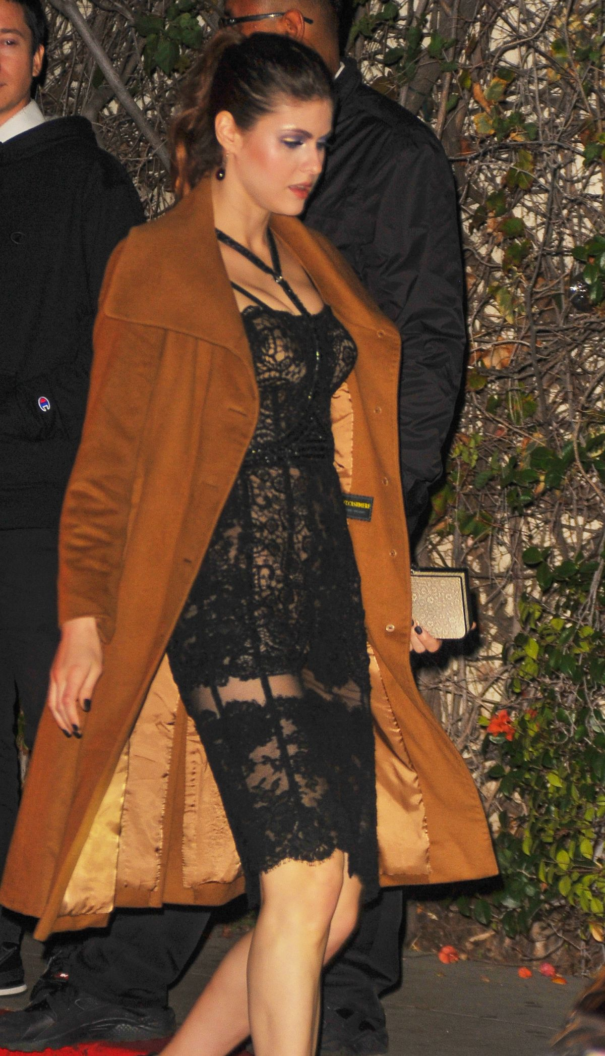 ALEXANDRA DADDARIO at Chateau Marmont in Los Angeles 01/08/2017