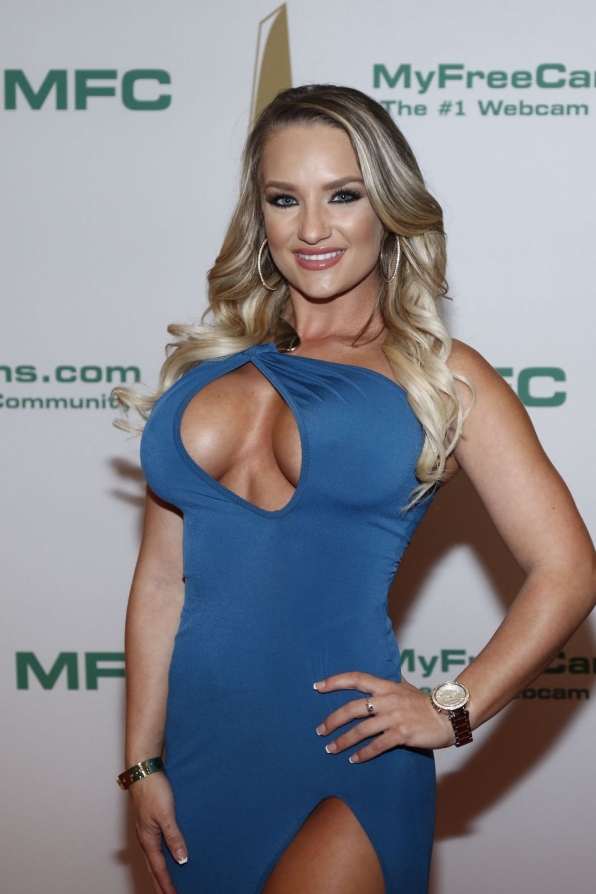 ALI CARTER at Xbiz Awards in Los Angeles, January 2017