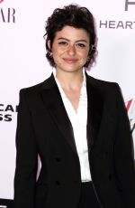 ALIA SHAWKAT at Harper's Bazaar 150 Most Fashionable Women Party in Hollywood 01/27/2017