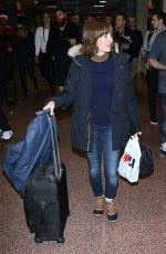 ALISON BRIE at Airport in Salt Lake City 01/20/2017