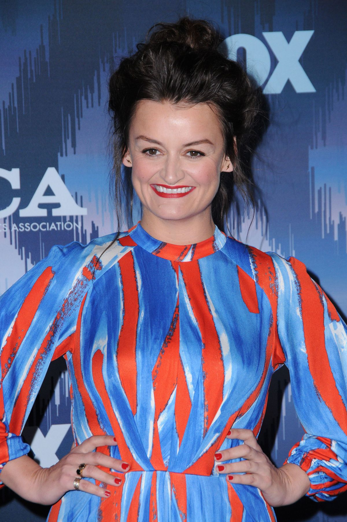 ALISON WRIGHT at Fox All-star Party at 2017 Winter TCA Tour in Pasadena 01/11/2017