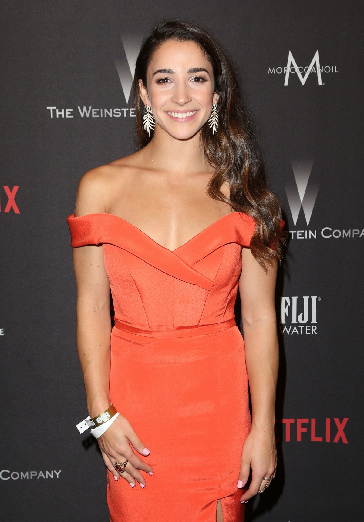 ALY RAISMAN at Weinstein Company and Netflix Golden Globe Party in Beverly Hills 01/08/2017