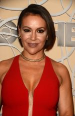 ALYSSA MILANO at HBO Golden Globes Party in Beverly Hills 01/08/2017
