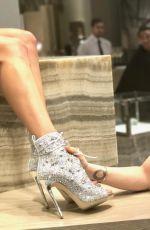 ALYSSA MILANO at Jennifer Lopez x Giuseppe Zanotti New Shoe Collaboration 01/26/2017