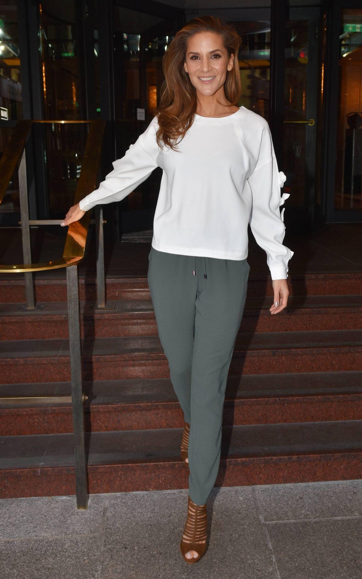AMANDA BYRAM at Westbury Hotel in Dublin 01/13/2017