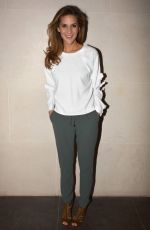 AMANDA BYRAM at Westbury Hotel in Dublin 01/13/2017