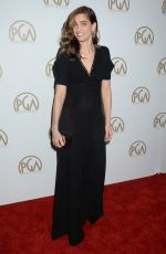 AMANDA PEET at 28th Annual Producers Guild Awards in Beverly Hills 01/28/2017