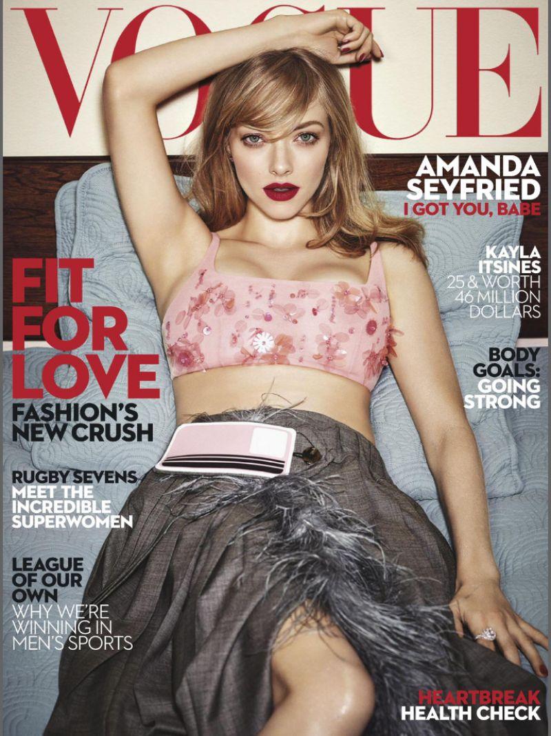 AMANDA SEYFRIED in Vogue Magazine, Australia February 2017 Issue