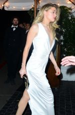 AMBER HEARD at a Golden Globe Party in Los Angeles 01/08/2017