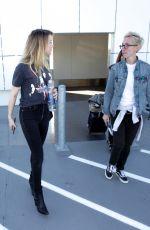 AMBER HEARD at Los Angeles International Airport 01/29/2017