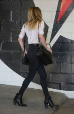 AMBER HEARD Out and About in Beverly Hills 01/30/2017