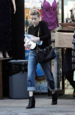 AMBER HEARD Out Shopping in Los Angeles 01/18/2017