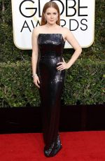 AMY ADAMS at 74th Annual Golden Globe Awards in Beverly Hills 01/08/2017