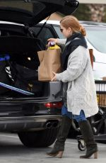 AMY ADAMS at Grocery Shopping in Los Angeles 12/31/2016
