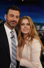 AMY ADAMS at Jimmy Kimmel Live! in New York 01/10/201