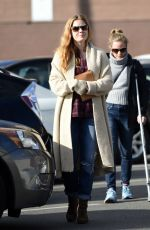 AMY ADAMS Out for Breakfast at Griddle Cafe in Los Angeles 01/13/2017
