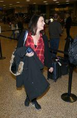 AMY LANDECKER Arrives in Salt Lake City 01/22/2017